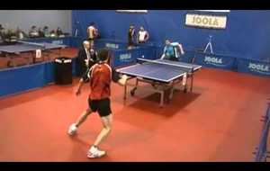 The impossible Table Tennis Shot